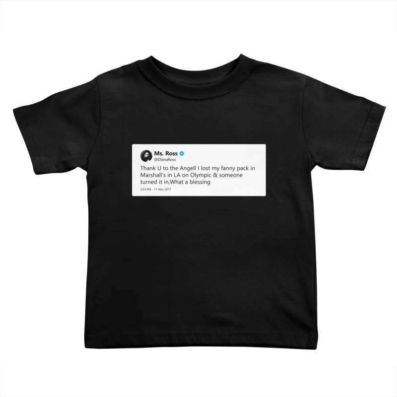 "TweetSHIRT/""Diana Ross at Marshall's"" Kids Toddler T-Shirt by Josh Sabarra's Shop"