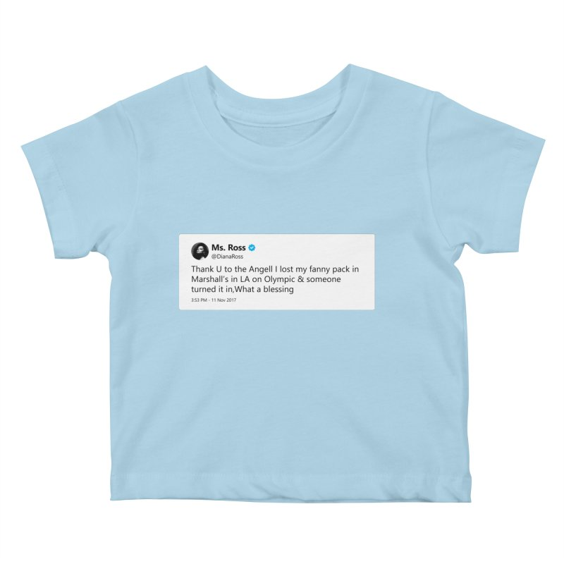 "SIDE EYE/""Diana Ross at Marshall's"" TweetSHIRT Kids Baby T-Shirt by Josh Sabarra's Shop"