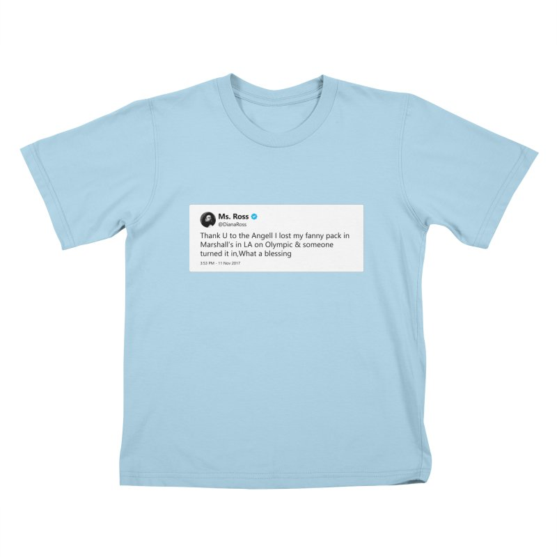 "SIDE EYE/""Diana Ross at Marshall's"" TweetSHIRT Kids T-Shirt by Josh Sabarra's Shop"