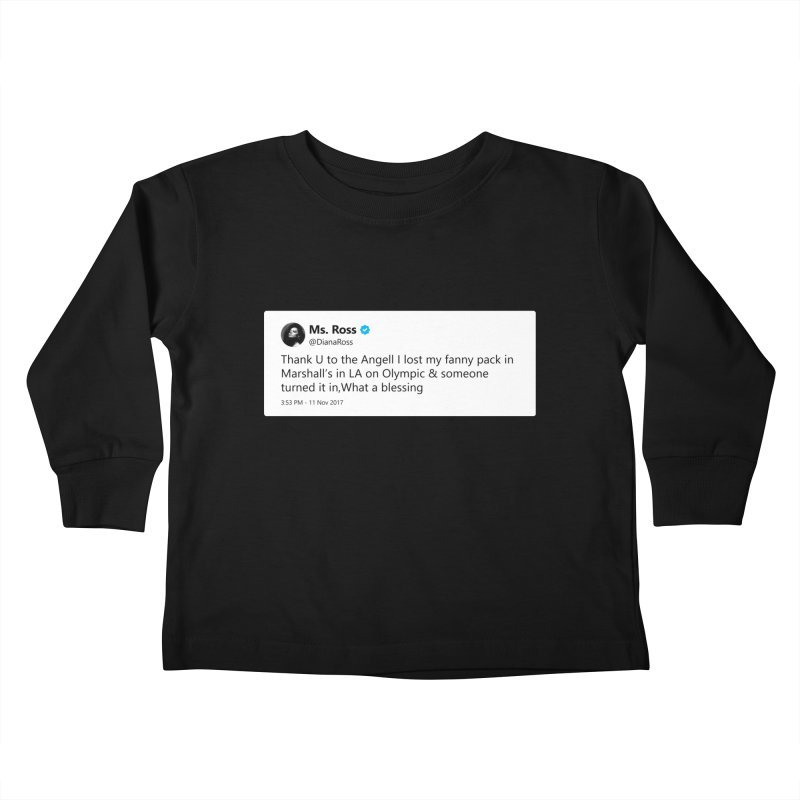 "SIDE EYE/""Diana Ross at Marshall's"" TweetSHIRT Kids Toddler Longsleeve T-Shirt by Josh Sabarra's Shop"