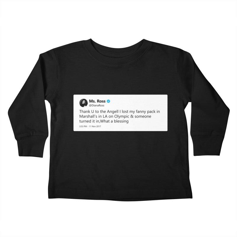 "TweetSHIRT/""Diana Ross at Marshall's"" Kids Toddler Longsleeve T-Shirt by Josh Sabarra's Shop"