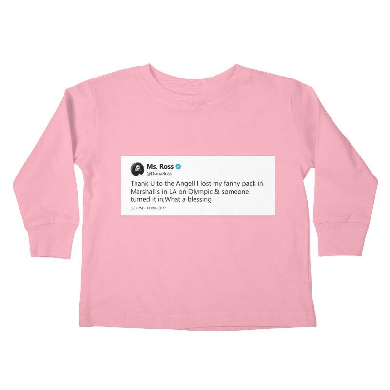 "SIDE EYE/""Diana Ross at Marshall's"" TweetSHIRT Kids Toddler Longsleeve T-Shirt by Josh Sabarra's Shop"