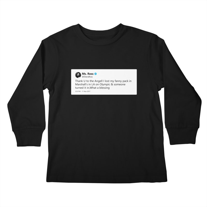 "SIDE EYE/""Diana Ross at Marshall's"" TweetSHIRT Kids Longsleeve T-Shirt by Josh Sabarra's Shop"