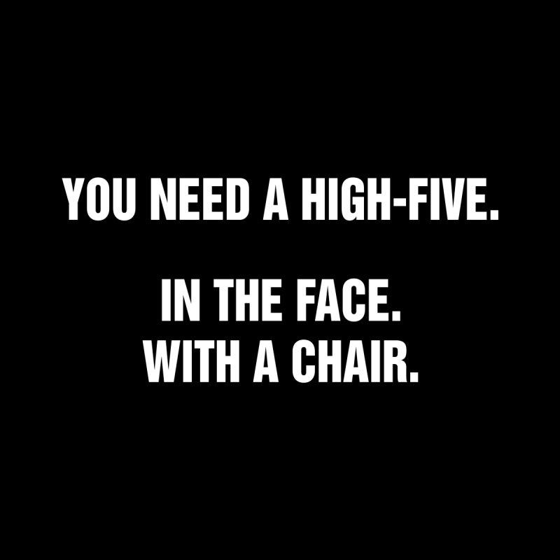 "SIDE EYE/""High-Five"" (White) by Josh Sabarra's Shop"