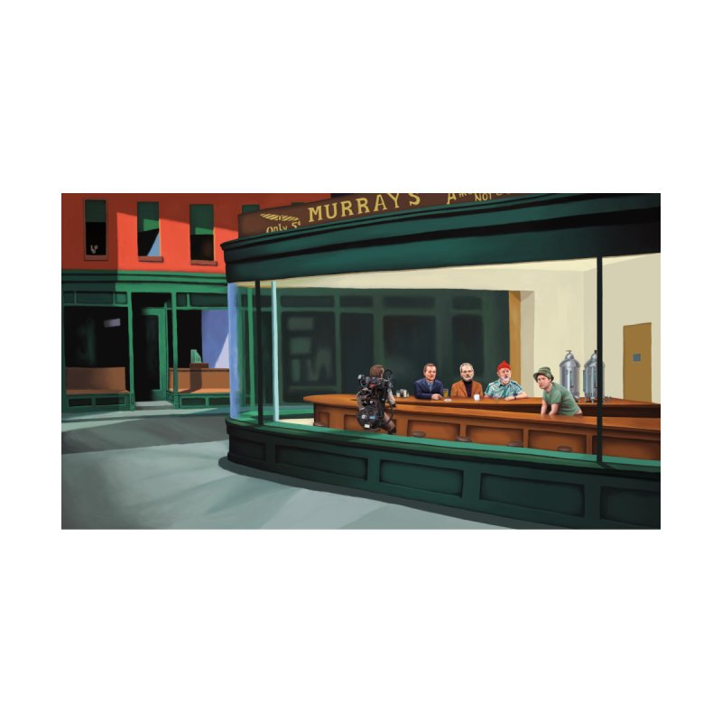 Murray's Nighthawks Women's T-Shirt by JuiceOne's Artist Shop