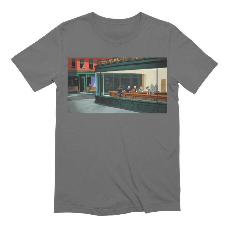Murray's Nighthawks Men's T-Shirt by JuiceOne's Artist Shop