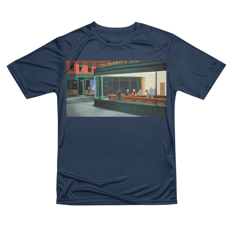 Murray's Nighthawks Women's Performance Unisex T-Shirt by JuiceOne's Artist Shop