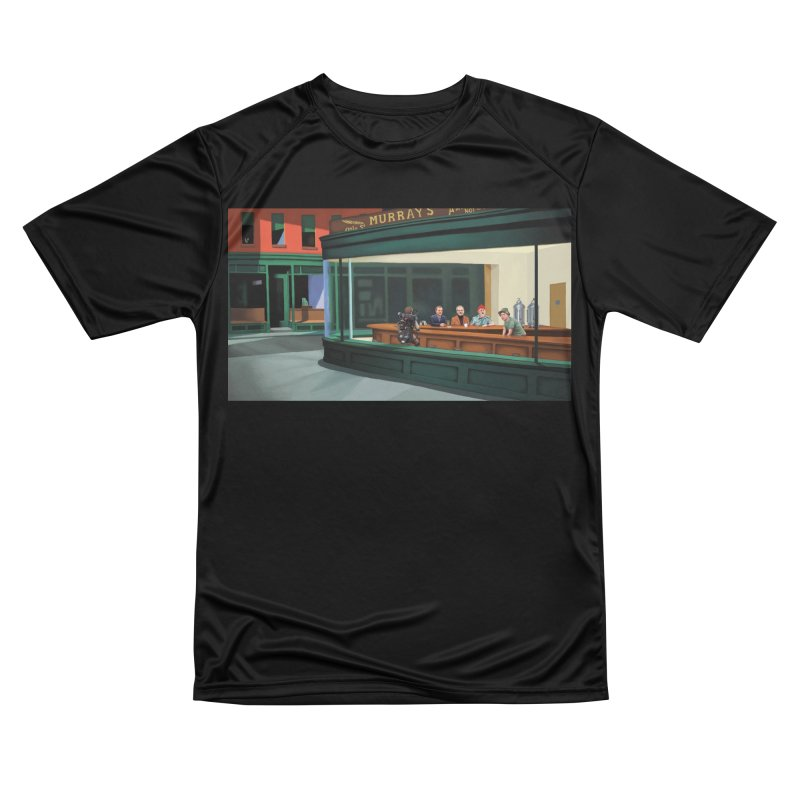 Murray's Nighthawks Men's Performance T-Shirt by JuiceOne's Artist Shop