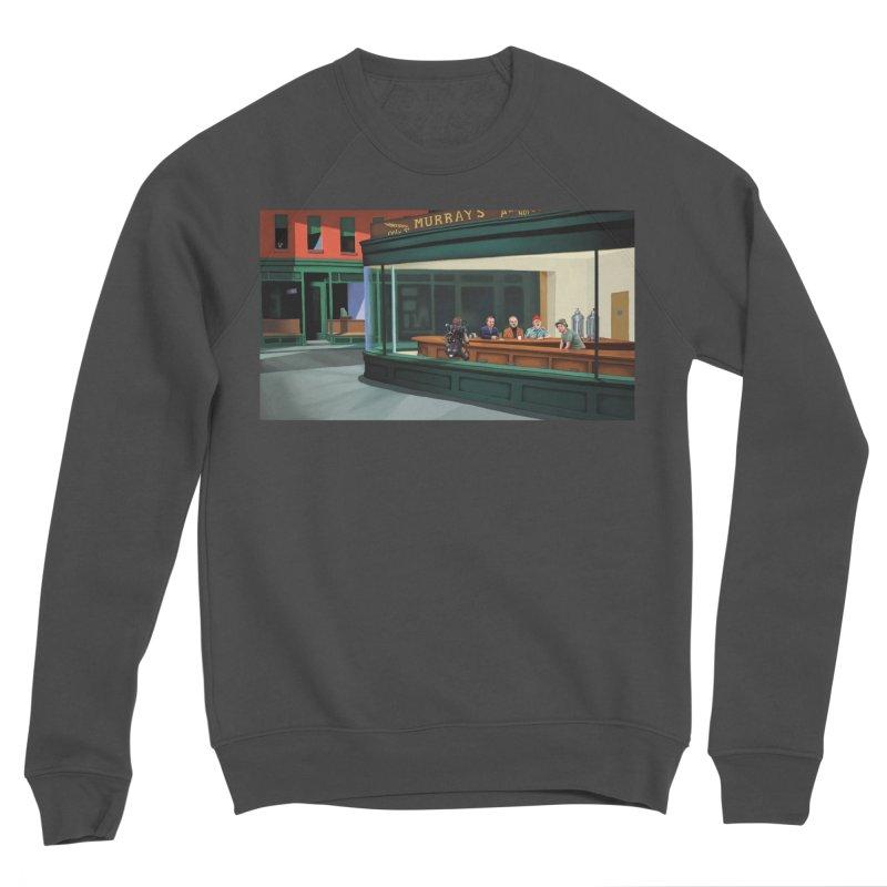 Murray's Nighthawks Men's Sponge Fleece Sweatshirt by JuiceOne's Artist Shop