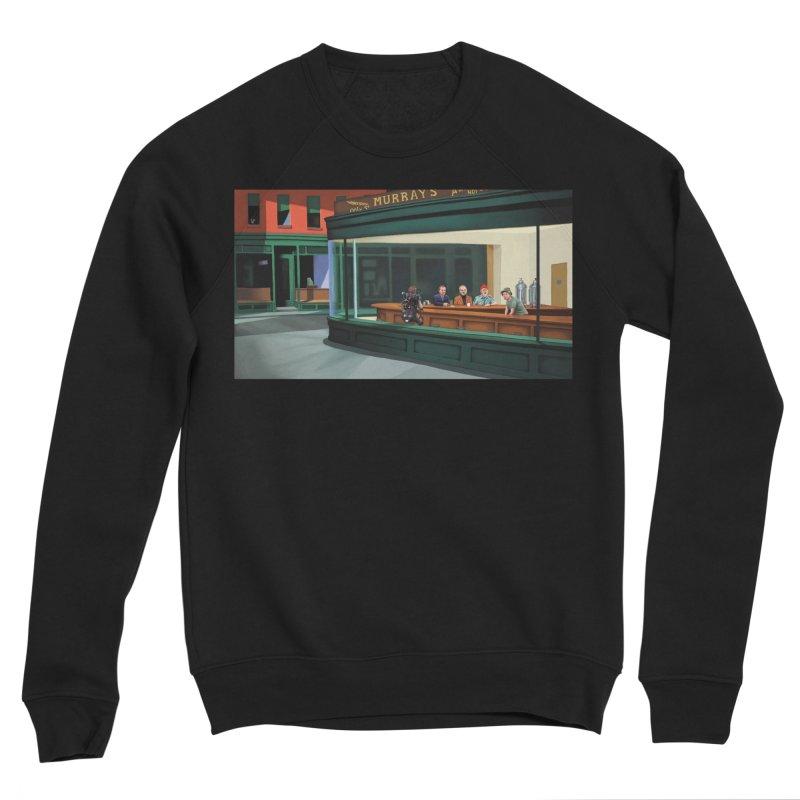 Murray's Nighthawks Women's Sponge Fleece Sweatshirt by JuiceOne's Artist Shop