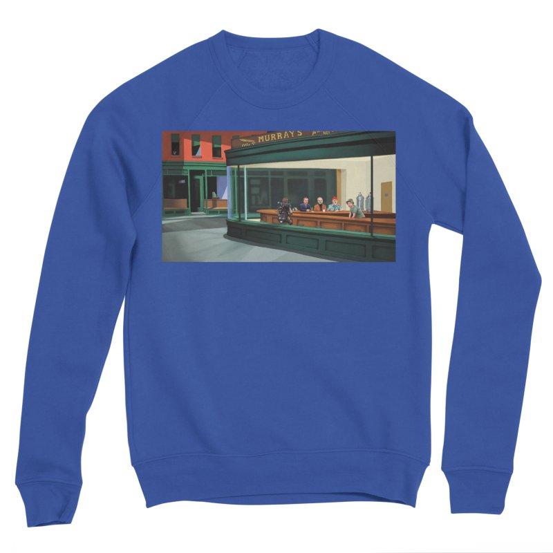 Murray's Nighthawks Men's Sweatshirt by JuiceOne's Artist Shop