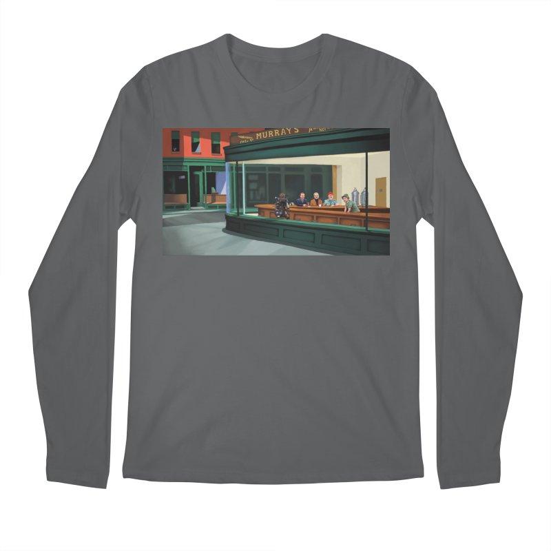 Murray's Nighthawks Men's Longsleeve T-Shirt by JuiceOne's Artist Shop