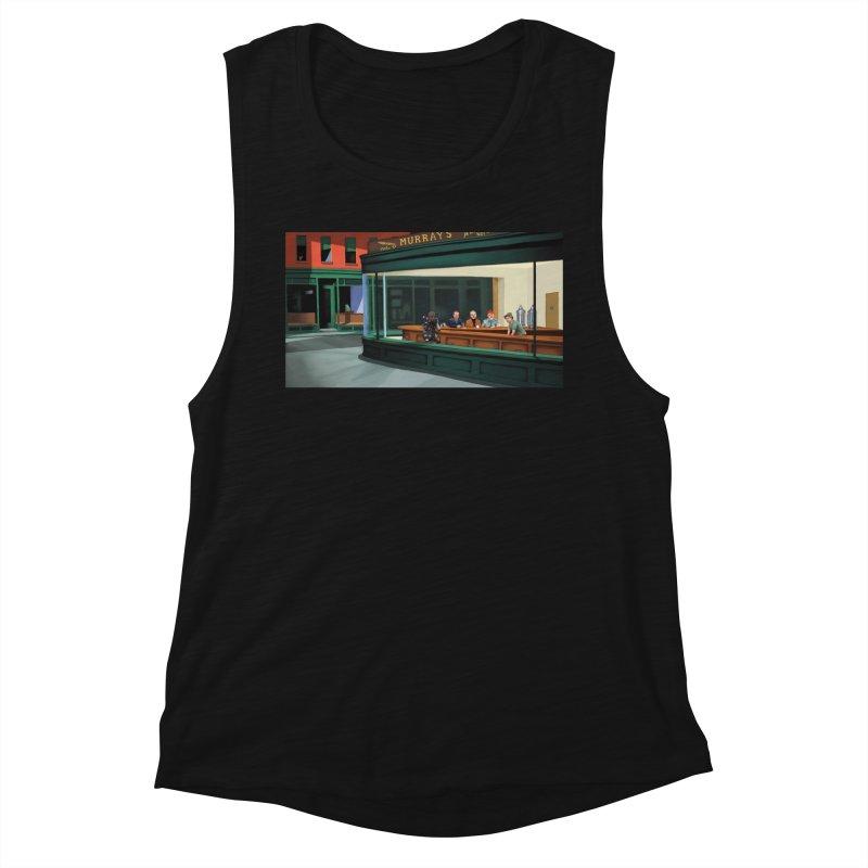 Murray's Nighthawks Women's Tank by JuiceOne's Artist Shop