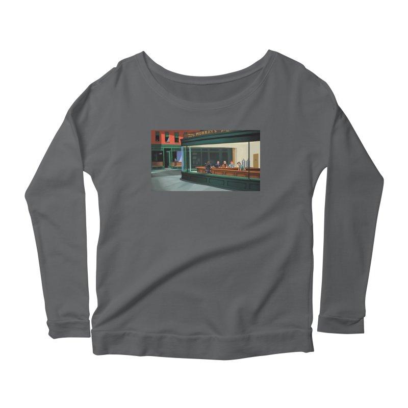 Murray's Nighthawks Women's Longsleeve T-Shirt by JuiceOne's Artist Shop