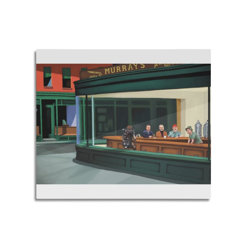 Murray's Nighthawks Home Mounted Acrylic Print by JuiceOne's Artist Shop