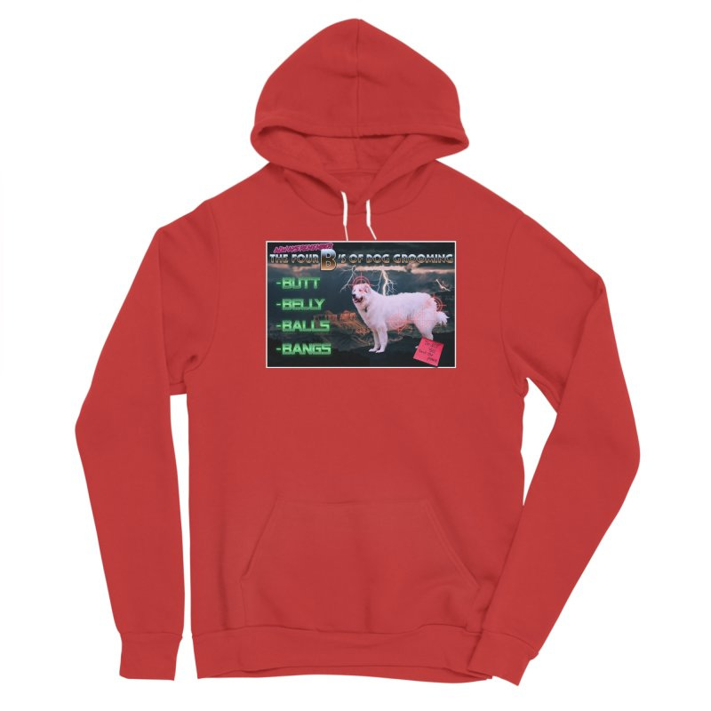 The 4 Bs of Dog Grooming Men's Pullover Hoody by JuiceOne's Artist Shop