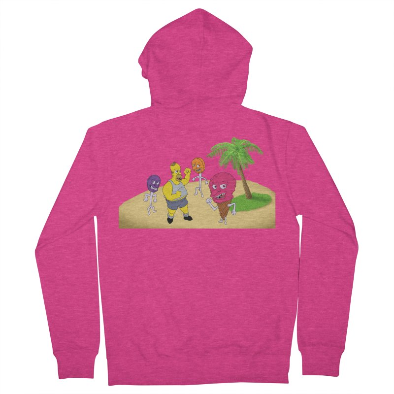 Sugar Sugar Women's French Terry Zip-Up Hoody by JuiceOne's Artist Shop