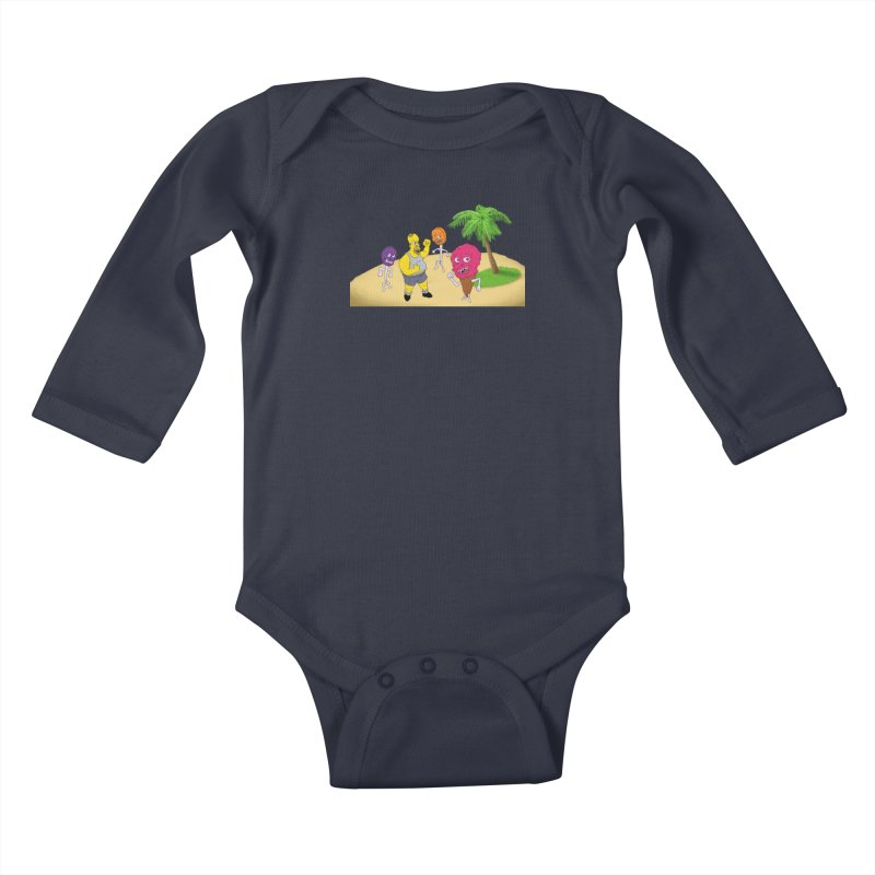 Sugar Sugar Kids Baby Longsleeve Bodysuit by JuiceOne's Artist Shop