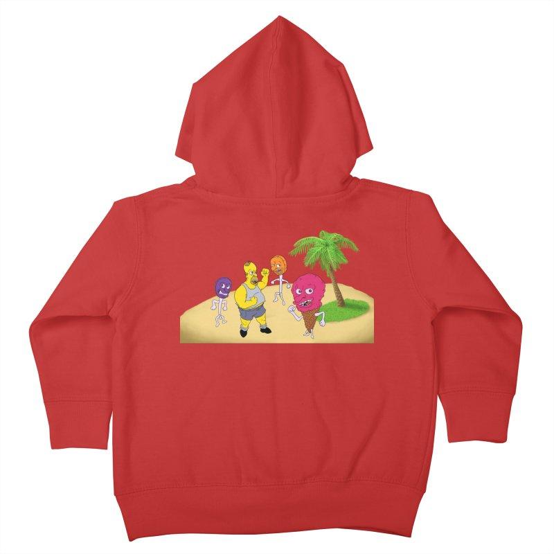 Sugar Sugar Kids Toddler Zip-Up Hoody by JuiceOne's Artist Shop