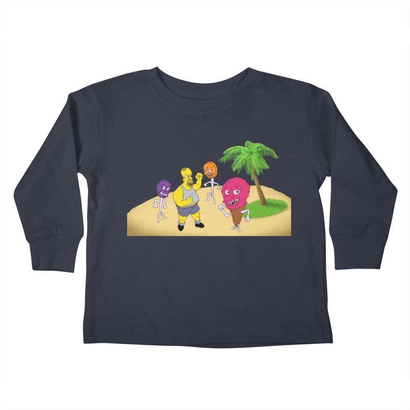 Sugar Sugar Kids Toddler Longsleeve T-Shirt by JuiceOne's Artist Shop