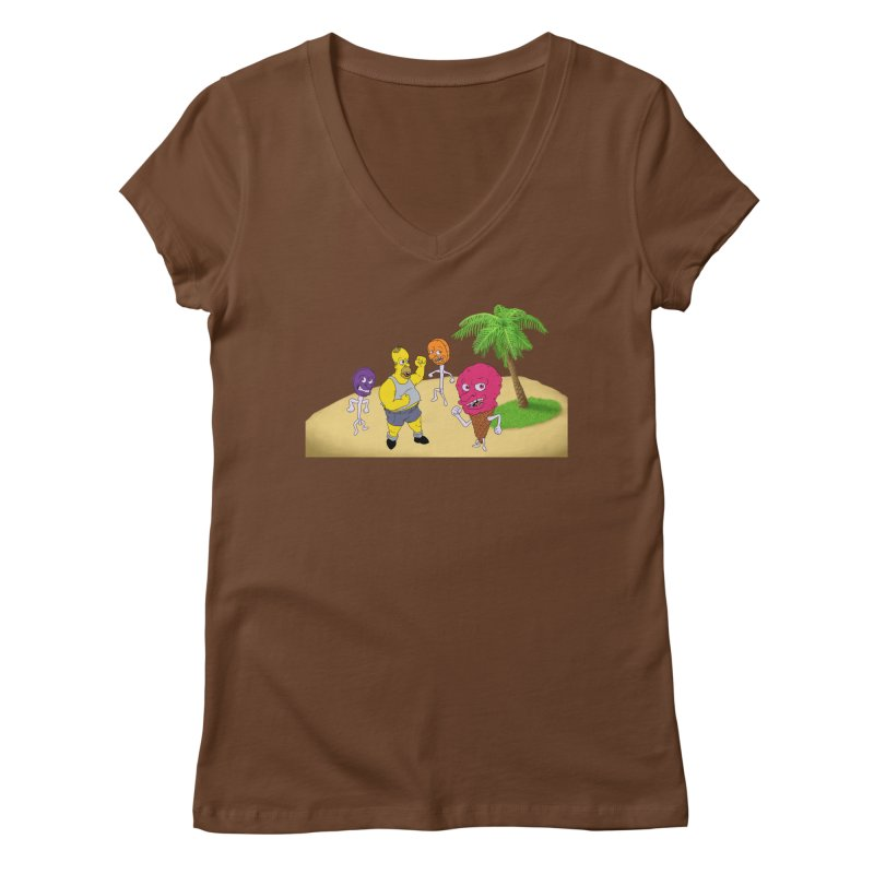 Sugar Sugar Women's Regular V-Neck by JuiceOne's Artist Shop