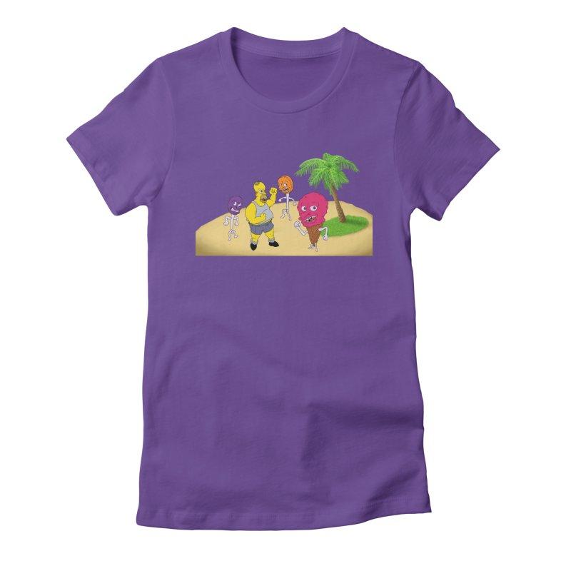 Sugar Sugar Women's Fitted T-Shirt by JuiceOne's Artist Shop