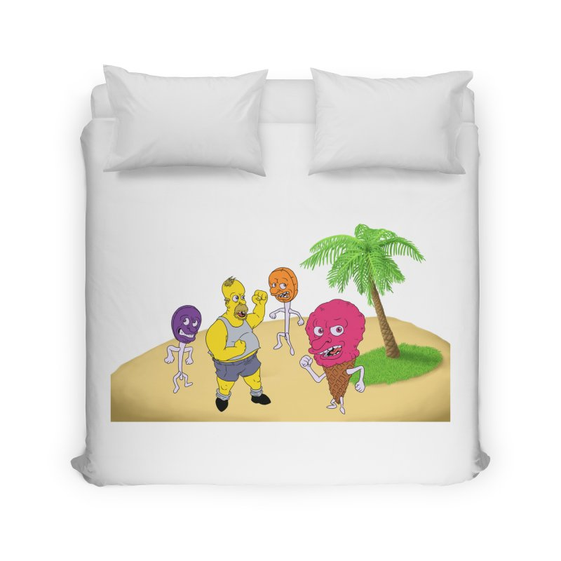 Sugar Sugar Home Duvet by JuiceOne's Artist Shop