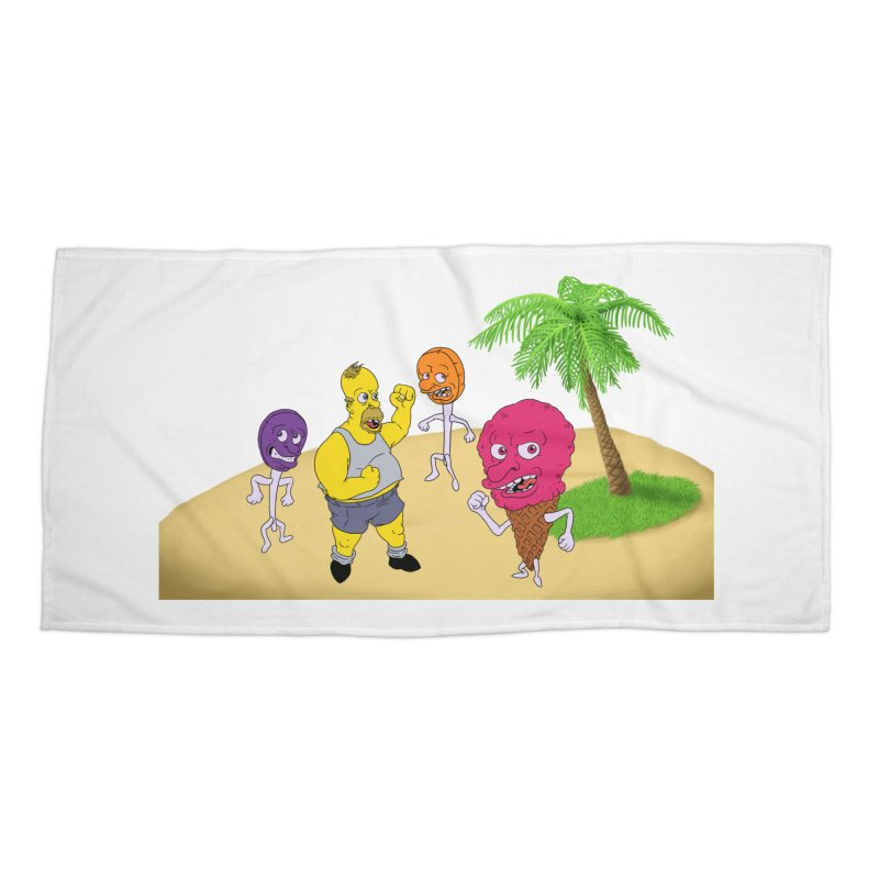 Sugar Sugar Accessories Beach Towel by JuiceOne's Artist Shop