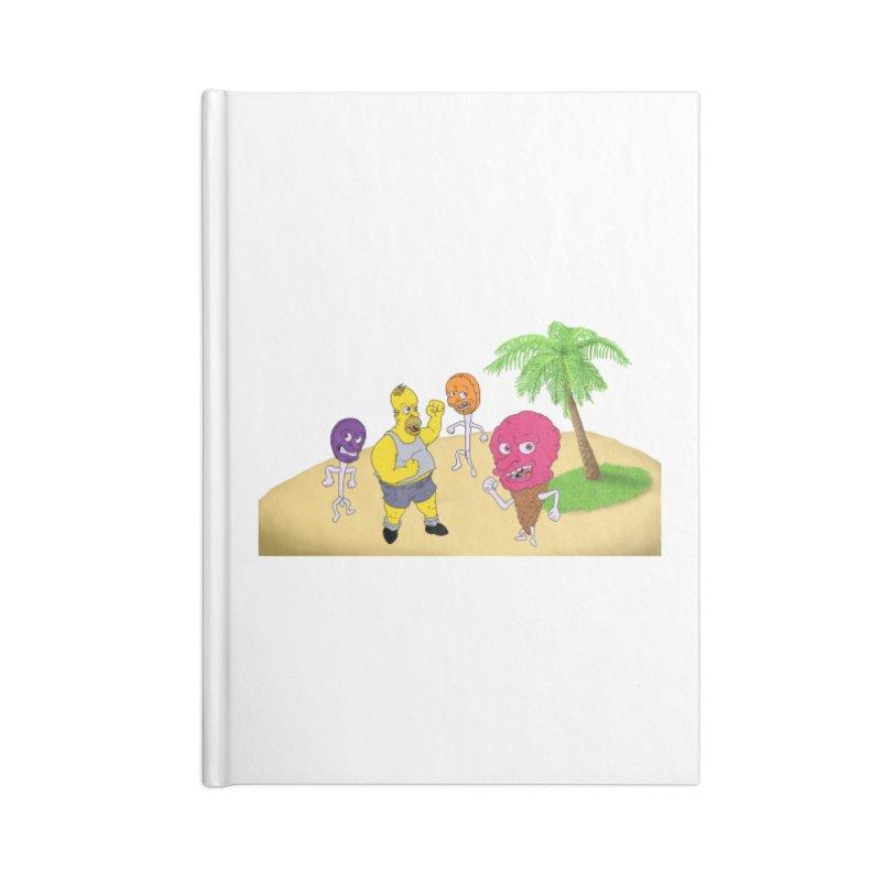 Sugar Sugar Accessories Lined Journal Notebook by JuiceOne's Artist Shop