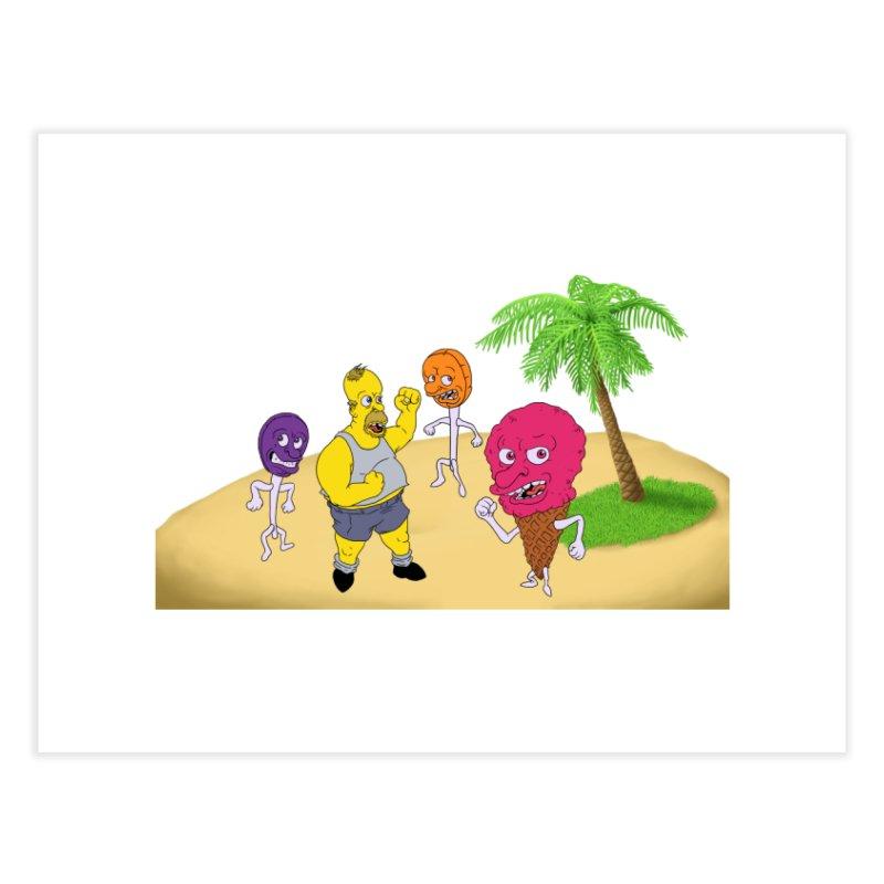 Sugar Sugar Home Fine Art Print by JuiceOne's Artist Shop