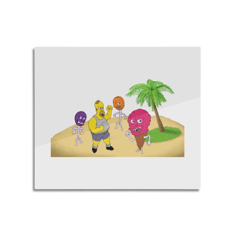 Sugar Sugar Home Mounted Aluminum Print by JuiceOne's Artist Shop