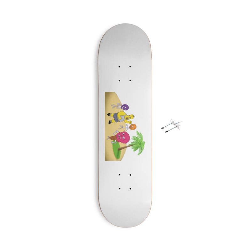Sugar Sugar Accessories With Hanging Hardware Skateboard by JuiceOne's Artist Shop