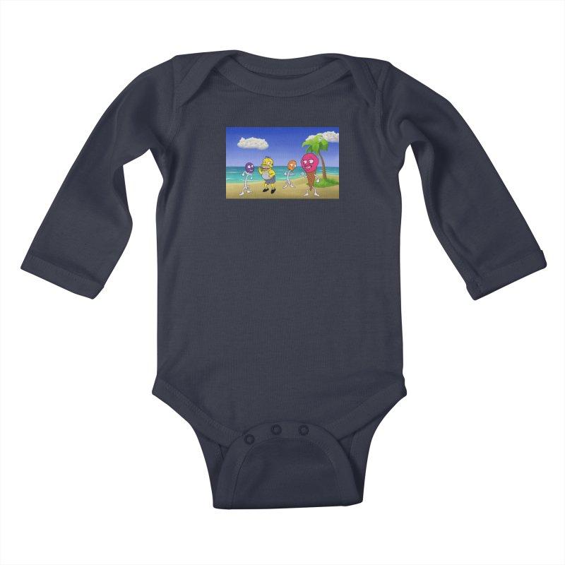 Sugar Sugar Cuties Kids Baby Longsleeve Bodysuit by JuiceOne's Artist Shop