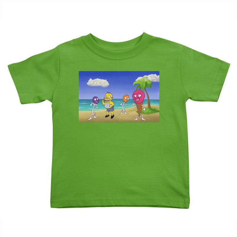 Sugar Sugar Cuties Kids Toddler T-Shirt by JuiceOne's Artist Shop