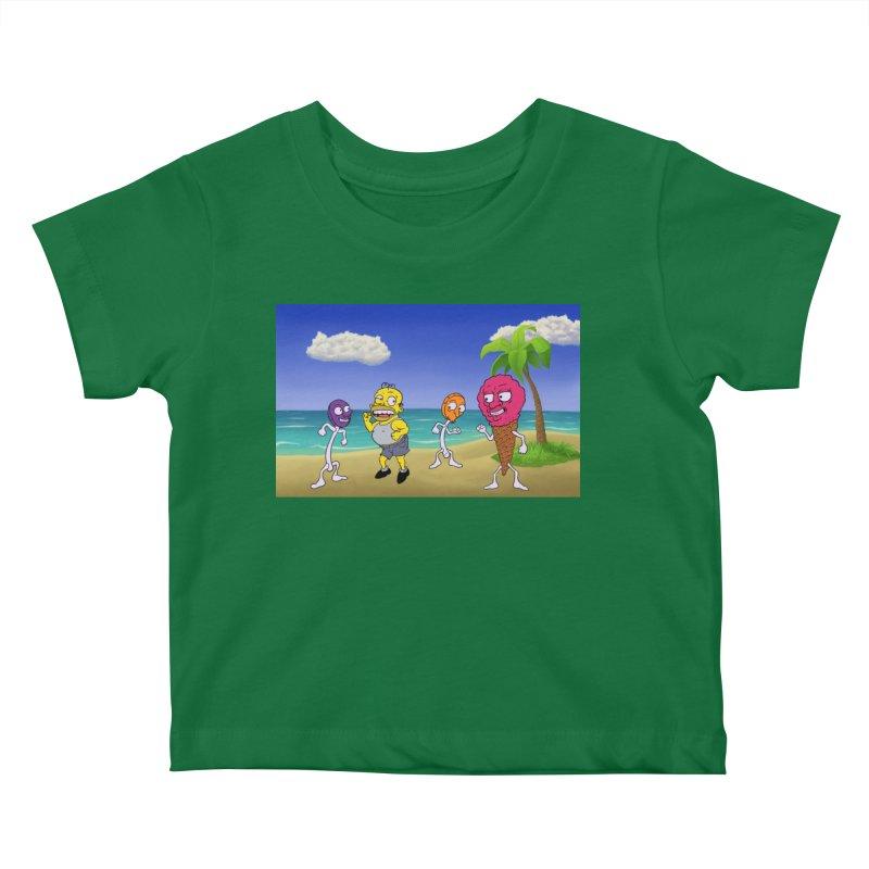 Sugar Sugar Cuties Kids Baby T-Shirt by JuiceOne's Artist Shop
