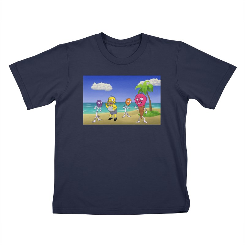 Sugar Sugar Cuties Kids T-Shirt by JuiceOne's Artist Shop