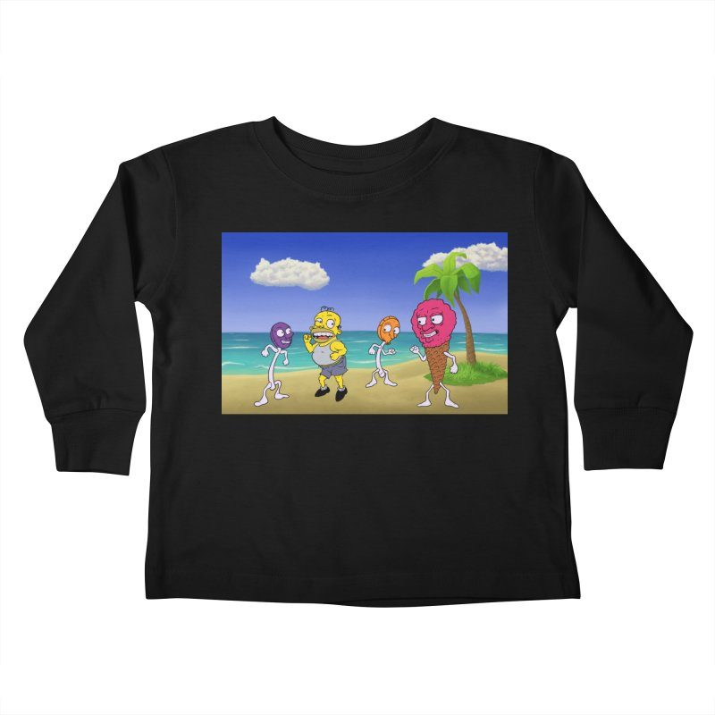 Sugar Sugar Cuties Kids Toddler Longsleeve T-Shirt by JuiceOne's Artist Shop