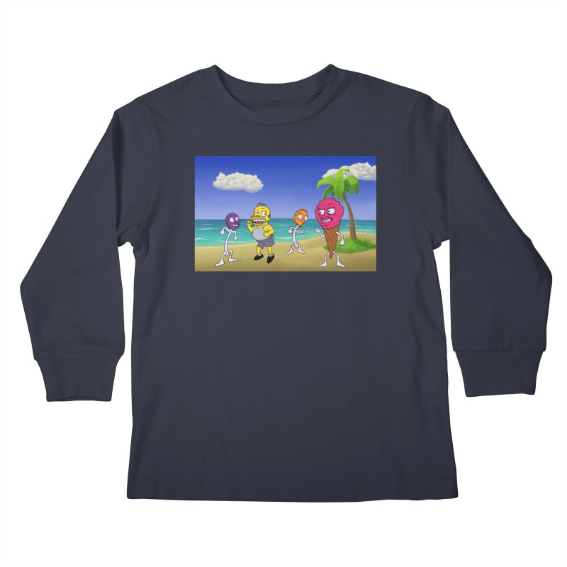 Sugar Sugar Cuties Kids Longsleeve T-Shirt by JuiceOne's Artist Shop
