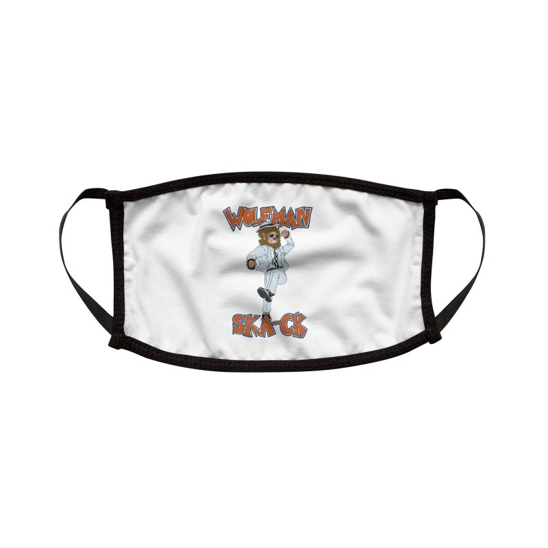 Wolfman Ska-ck Accessories Face Mask by JuiceOne's Artist Shop