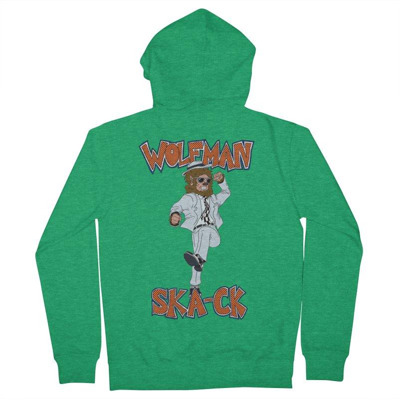 Wolfman Ska-ck Men's Zip-Up Hoody by JuiceOne's Artist Shop