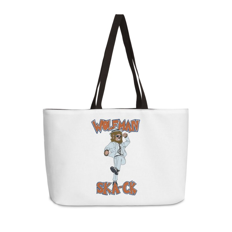 Wolfman Ska-ck Accessories Bag by JuiceOne's Artist Shop