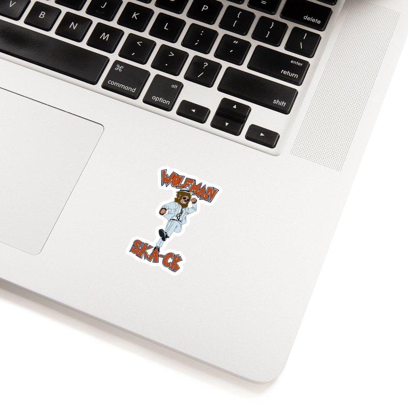 Wolfman Ska-ck Accessories Sticker by JuiceOne's Artist Shop
