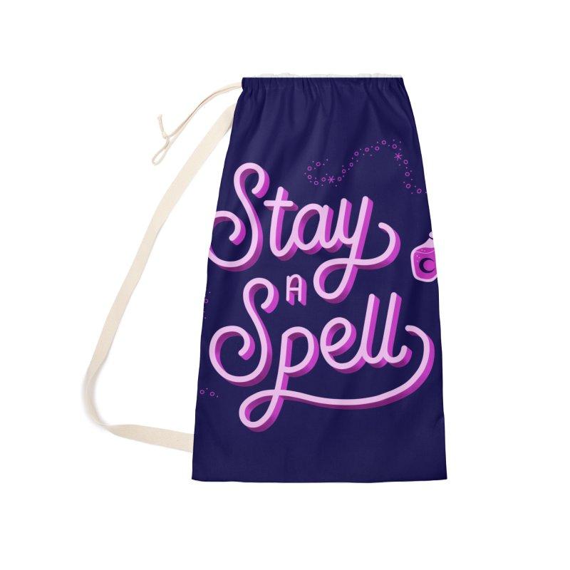 Stay a Spell logo Accessories Bag by Juliette Cross's Shop