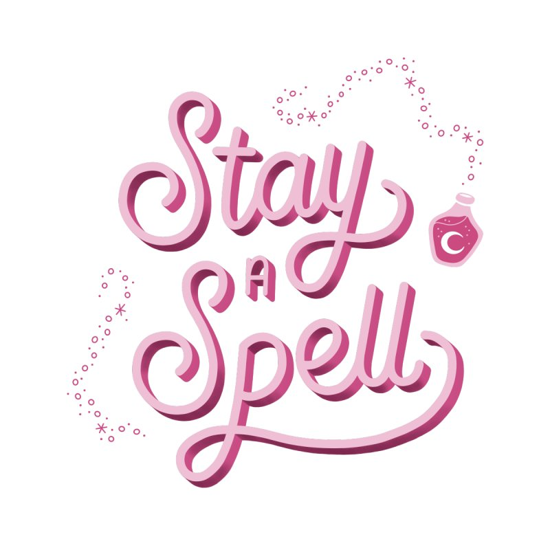 Stay a Spell Logo Women's Sweatshirt by Juliette Cross's Shop