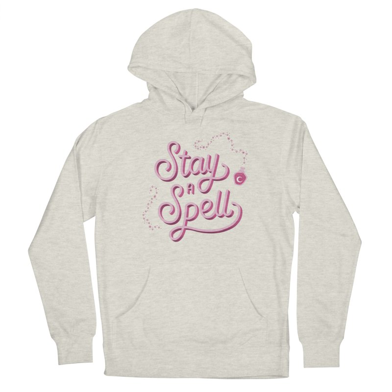 Stay a Spell Logo Women's Pullover Hoody by Juliette Cross's Shop