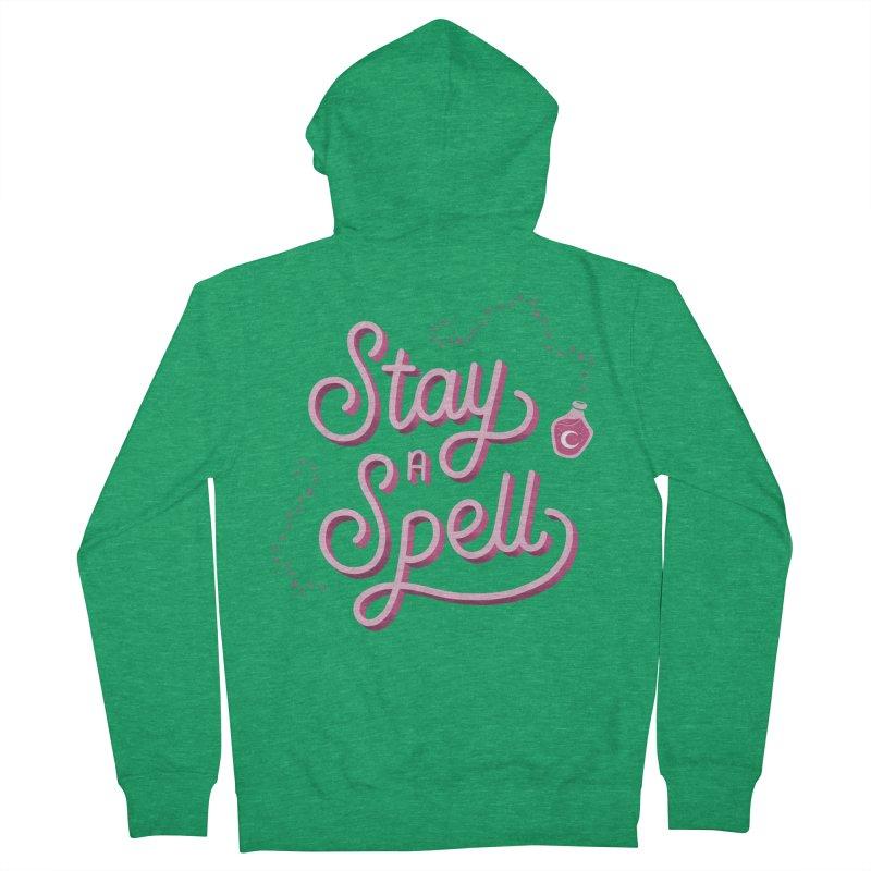 Stay a Spell Logo Women's Zip-Up Hoody by Juliette Cross's Shop