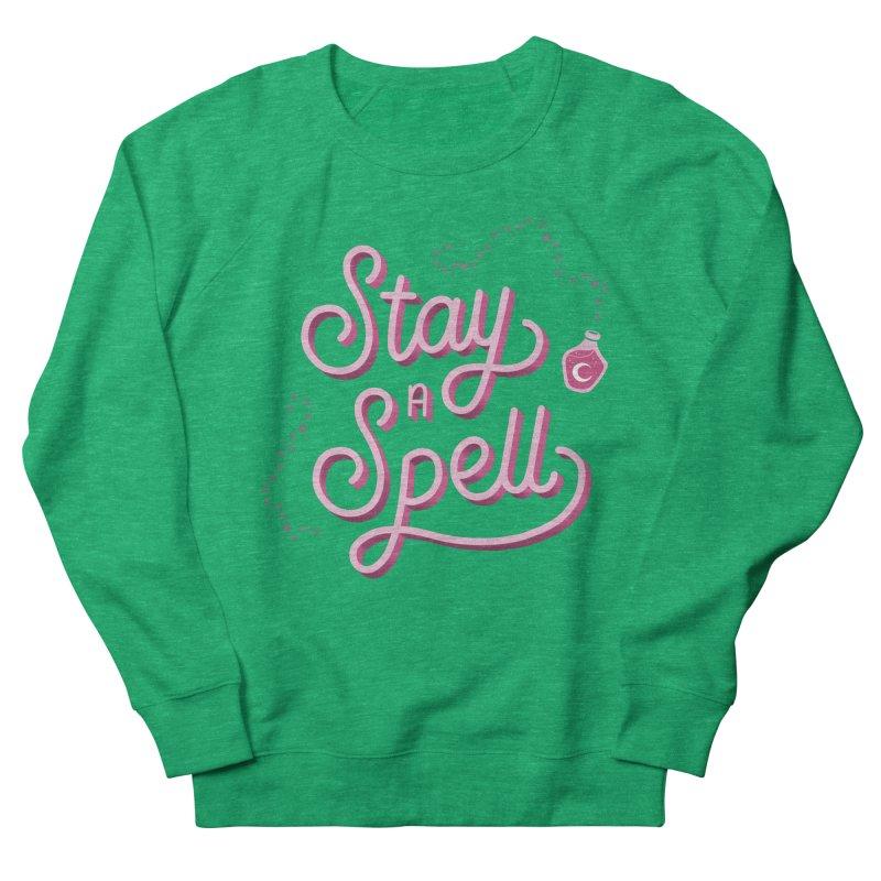 Stay a Spell Logo Women's Sweatshirt by Juliette Cross's Shop