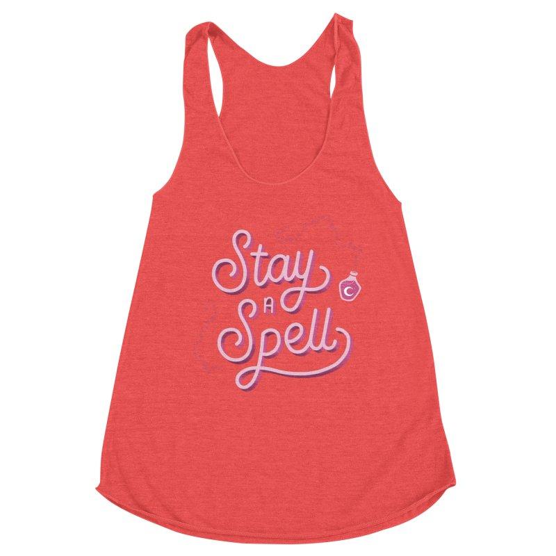 Stay a Spell Logo Women's Tank by Juliette Cross's Shop
