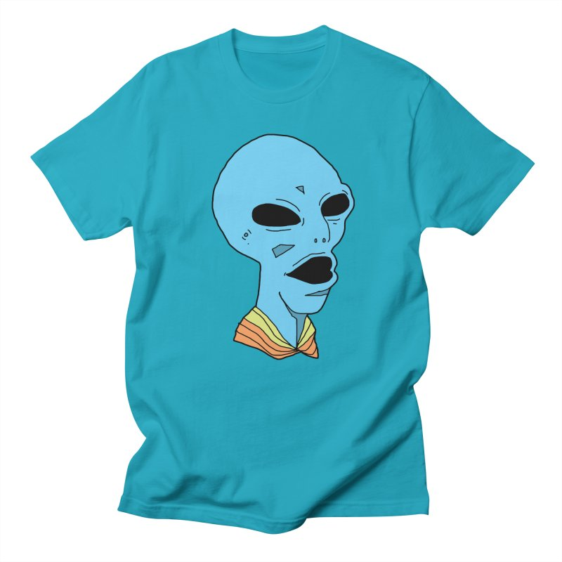 Alien Men's T-shirt by Jumo