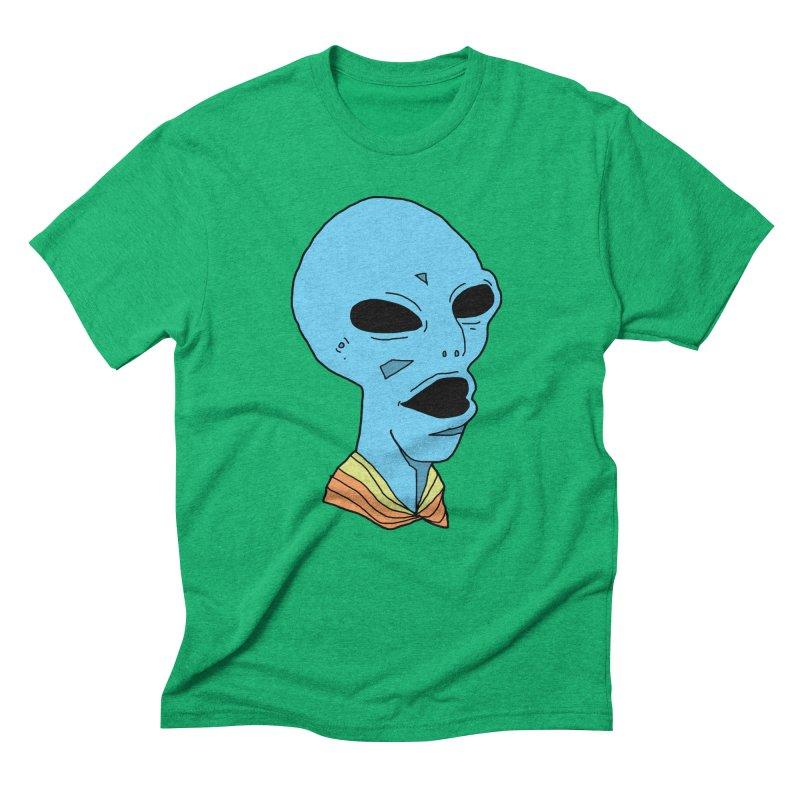 Alien Men's Triblend T-Shirt by Jumo